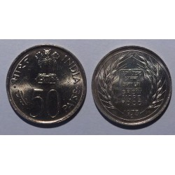 Indie - 50 paise - 1973