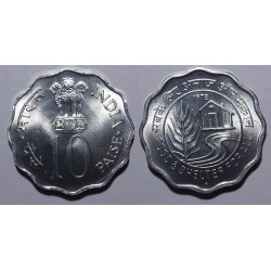 Indie - 5, 10 paise - 1978