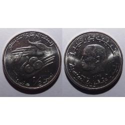 Tunezja - 1/2 dinara - 1976