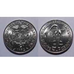 Zachodnia Afryka Fran. - 50 franków - 1972