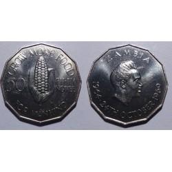 Zambia - 50 ngwee - 1969